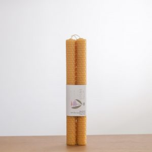 Living Fresh Flower and Plant Studio - Beeswax Candle - Honey
