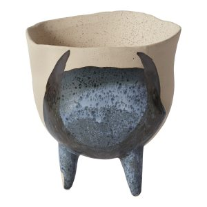 Living Fresh Flower and Plant Studio - Finn Footed Pot Small
