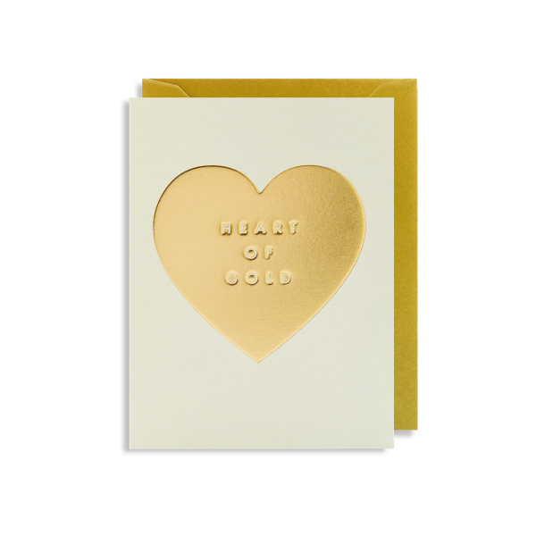 Living Fresh Flower and Plant Studio - Heart of Gold Card