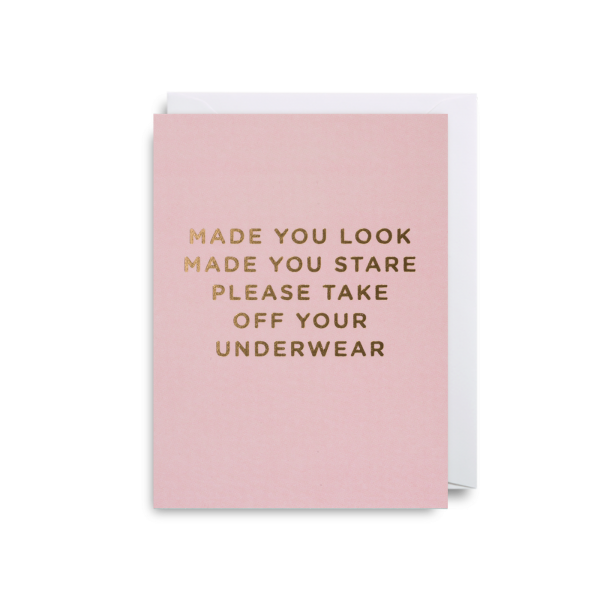 Living Fresh Flower and Plant Studio - Made You Look Card