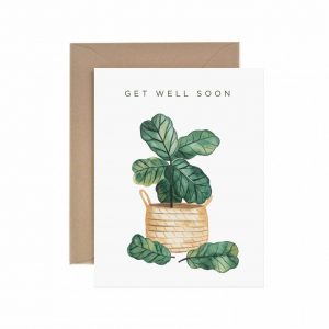 Plant Get Well Soon Card