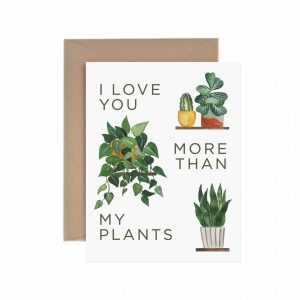 Living Fresh Flower and Plant Studio - Paper Anchor Card - More_Than_My_Plants