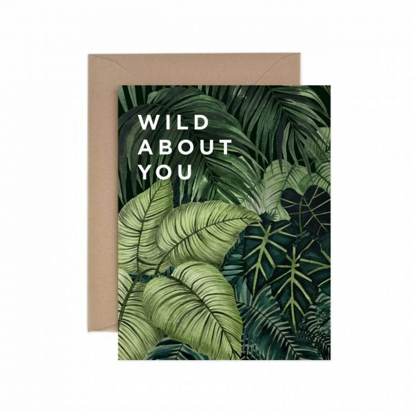 Living Fresh Flower and Plant Studio - Paper Anchor Card - Wild_About_You