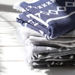 Living Fresh Flower and Plant Studio - Sunday Dry Goods - Aztec Towel
