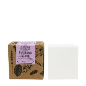 Living Fresh Flower and Plant Studio_ Cocoon_Apothcary_patchouli_vibes_bath-bomb-cube