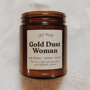 Livng Fresh Flower and Plant Studio - Shy Wolf Candles - Gold Dust Woman