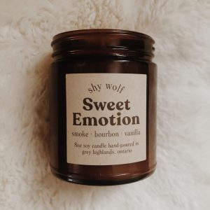 Livng Fresh Flower and Plant Studio - Shy Wolf Candles - Sweet Emotion