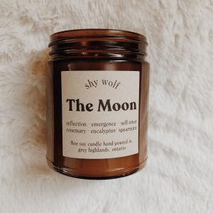 Living Fresh Flower and Plant Studio - Shy Wolf Candles - The Moon