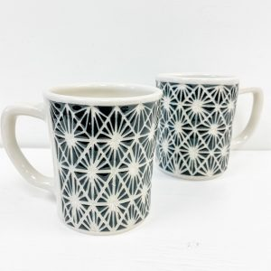 Living Fresh Flower and Plant Studio - Love Bites Ceramics Starburst Mug