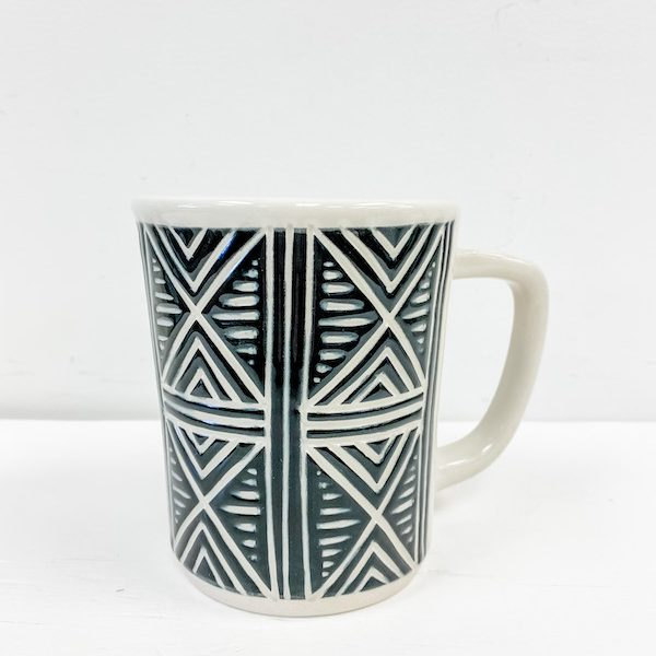 Living Fresh Flower and Plant Studio - Love Bites Ceramics Triangle Mug