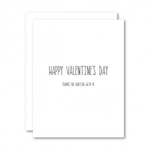 Living Fresh Flower and Plant Studio - Happy Valentines Day Card